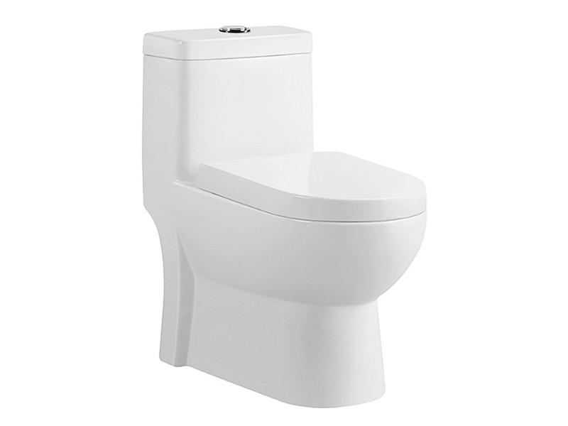 Chinese factory bathroom one-piece ceramic toilet