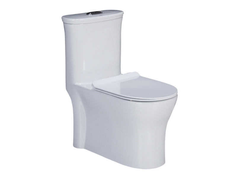 Ceramic sanitary ware one piece mexico siphon vortex toilet