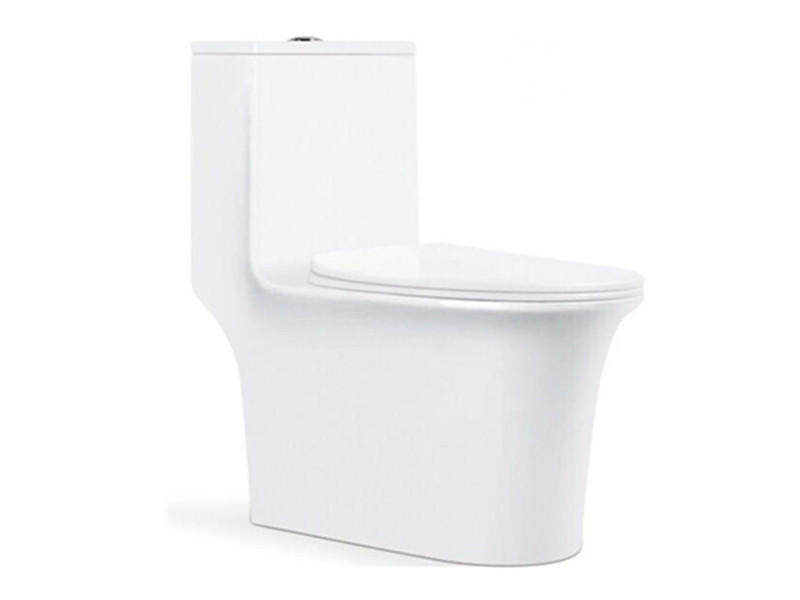 Ceramic bathroom s trap siphon toilet design