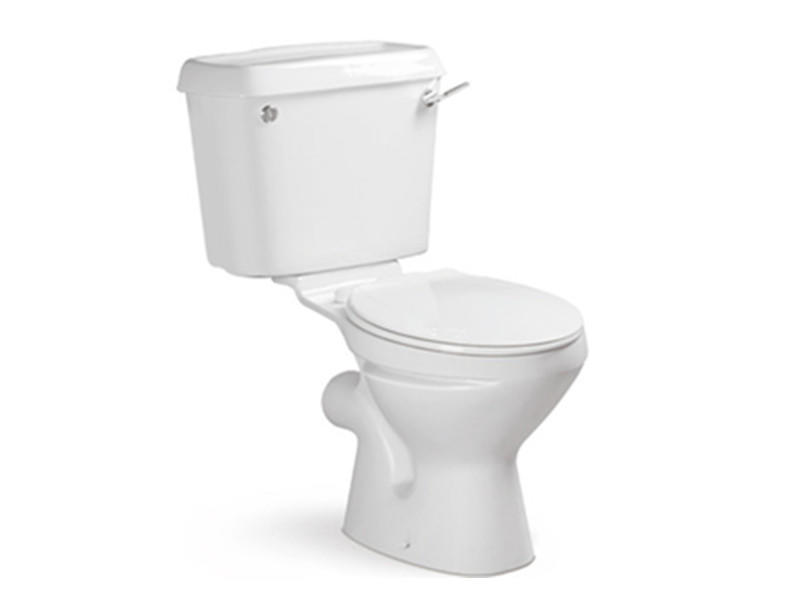 Twyford two piece washdown toilet for Africa