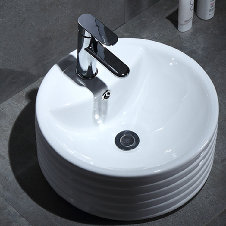 gold gold wash basin customized for home-2