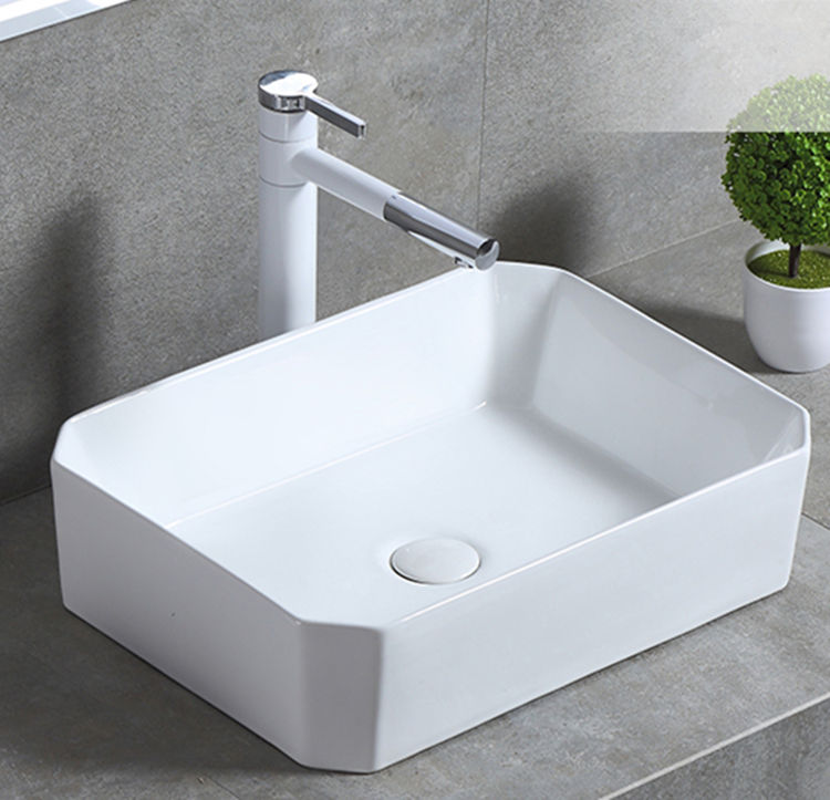 white toilet wash basin supplier for home-1