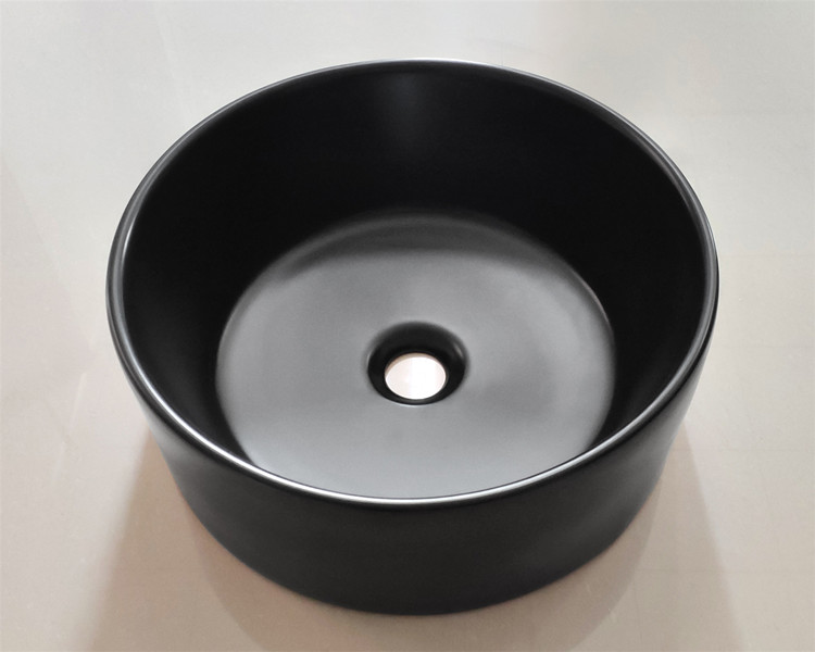 reliable black bathroom basin factory price for bathroom-1