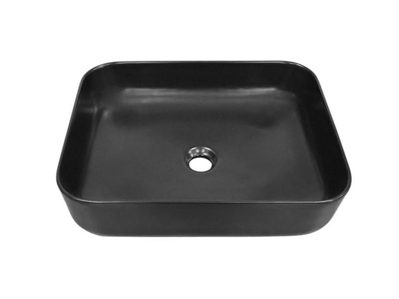 New design bathroom black wash basin for hotel