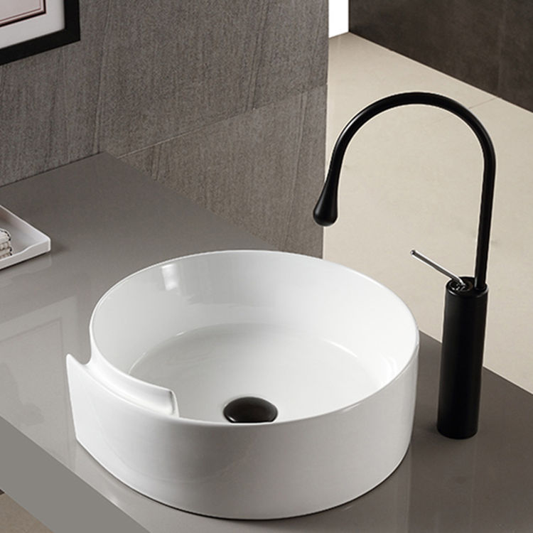Meizhi printed ceramic basin factory price for hotel-1