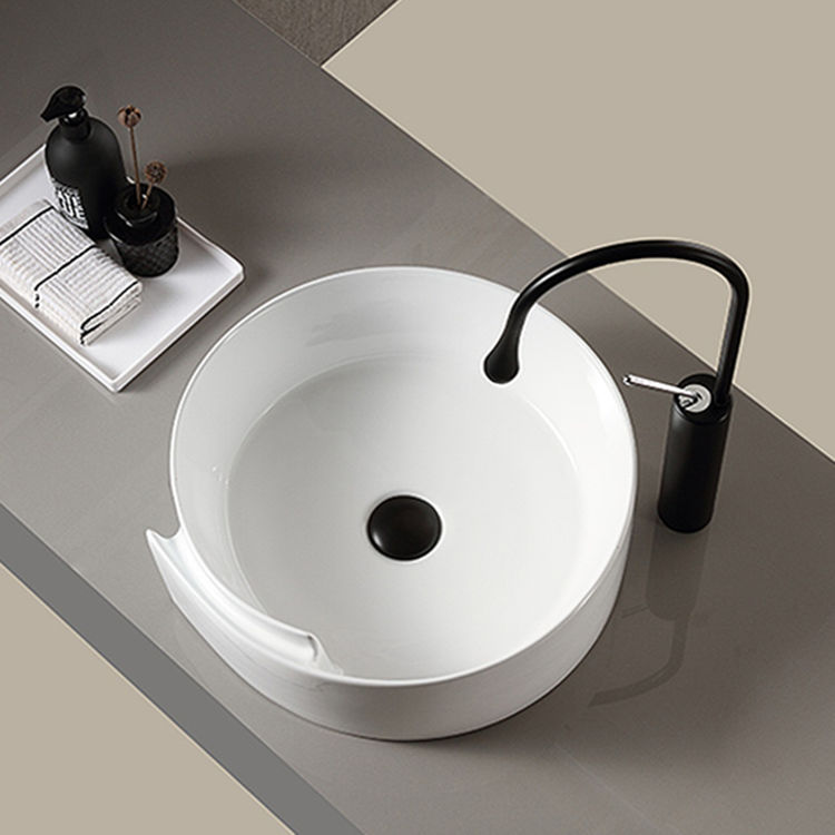 Meizhi printed ceramic basin factory price for hotel-2