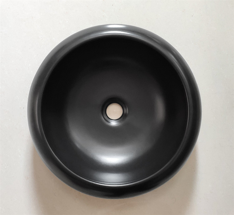 Meizhi black bathroom basin factory price for hotel-2