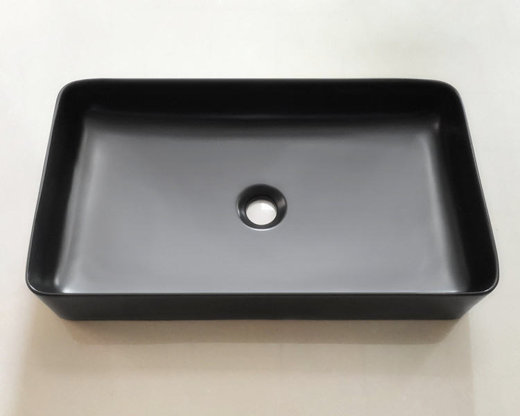 modern black basin factory for washroom-1