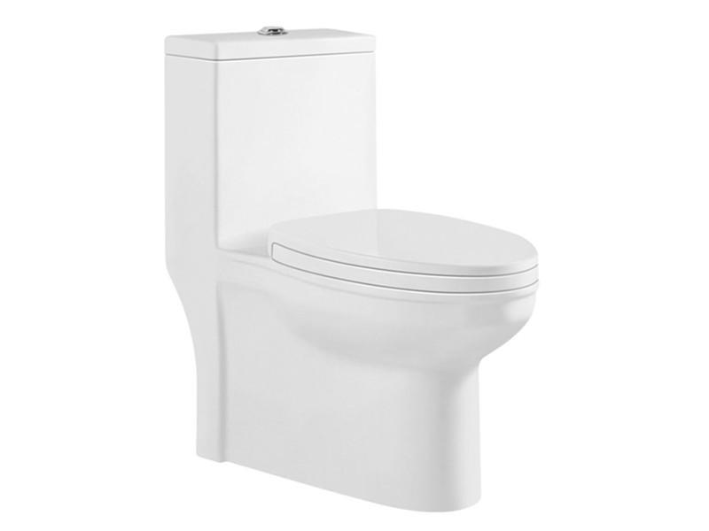 Bathroom siphonic sanitary ware toilet
