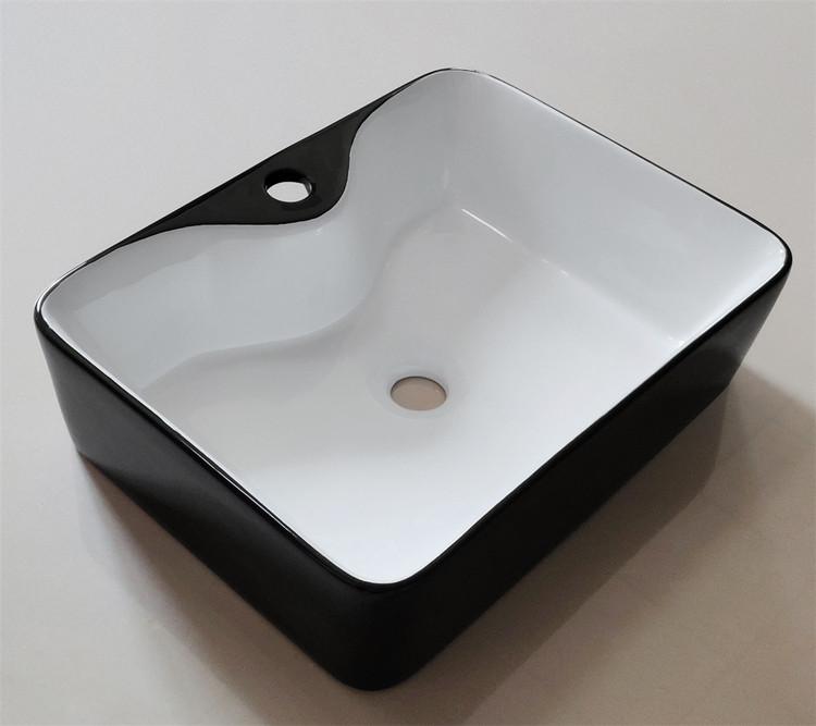 custom design black basin supplier for bathroom-2