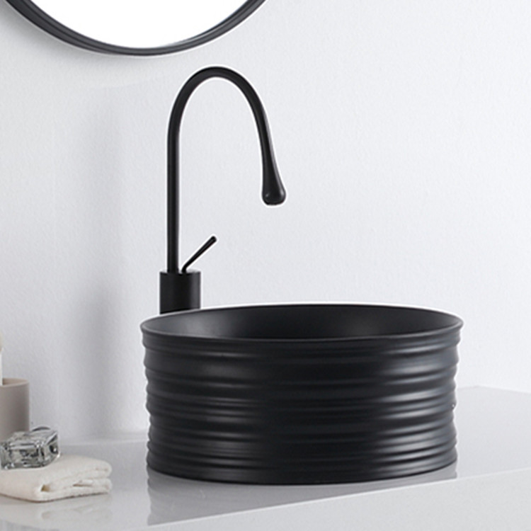 Meizhi black bathroom sink factory price for washroom-1