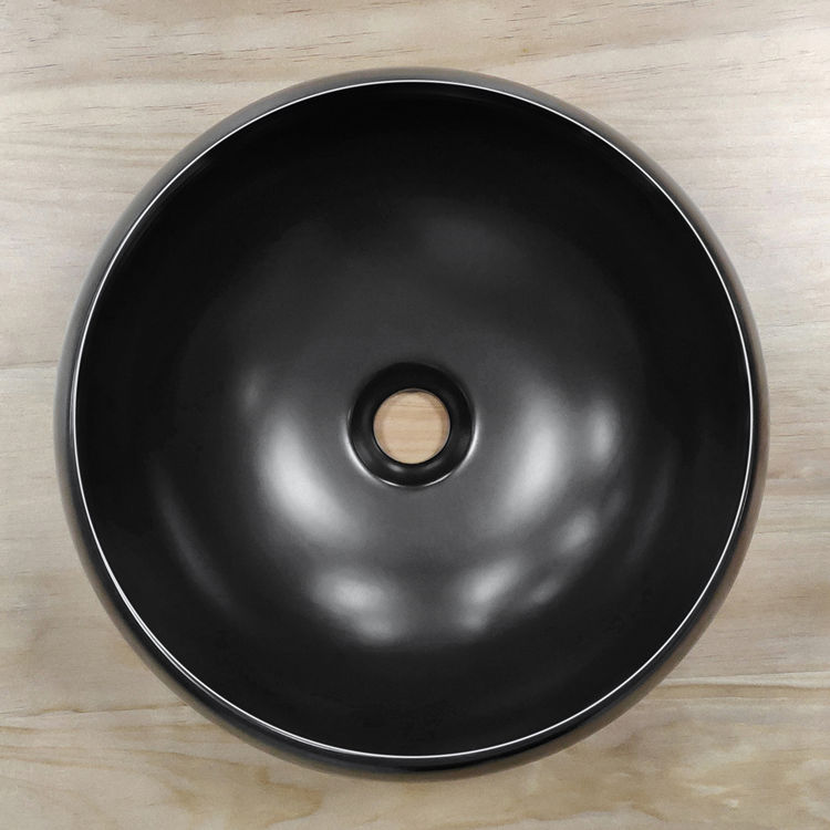Meizhi black bathroom basin manufacturer for washroom-2