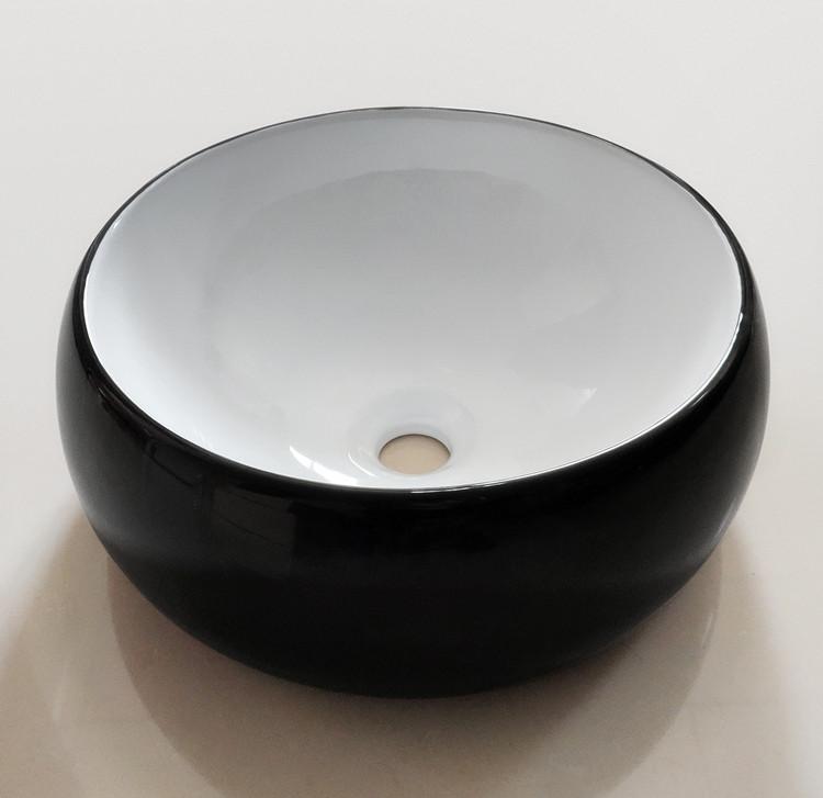 creative black sink basin wholesale for hotel-1
