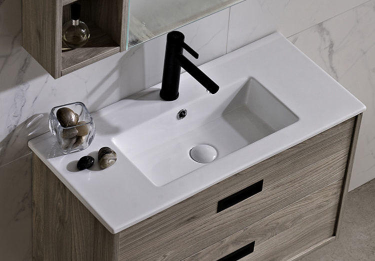 Long european bathroom antique vanity wash sinks