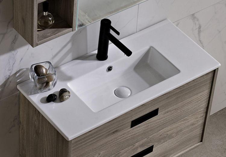 Long european bathroom antique vanity wash sinks