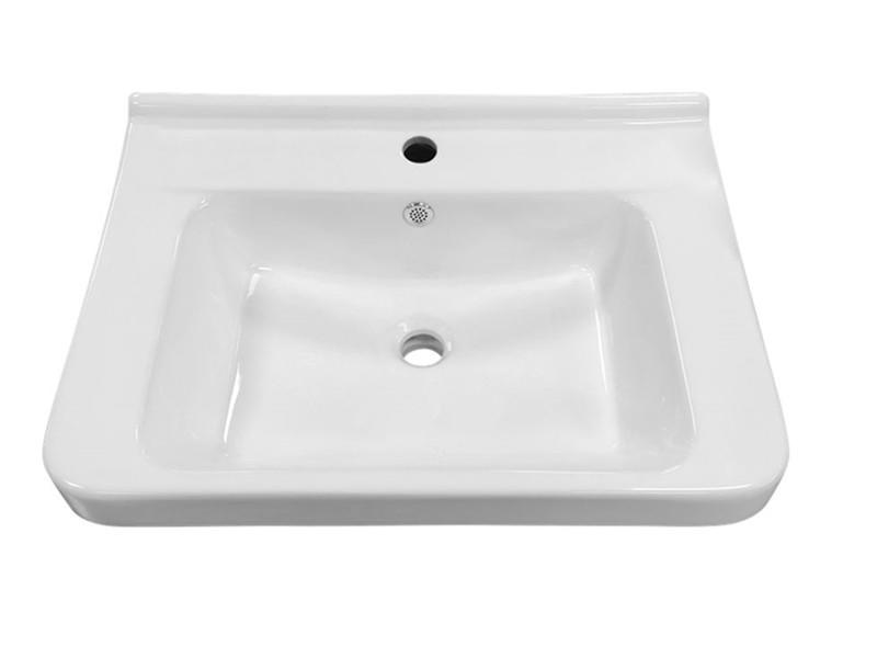 Top design elegant luxury above counter cabinet decorated ceramic wash basin