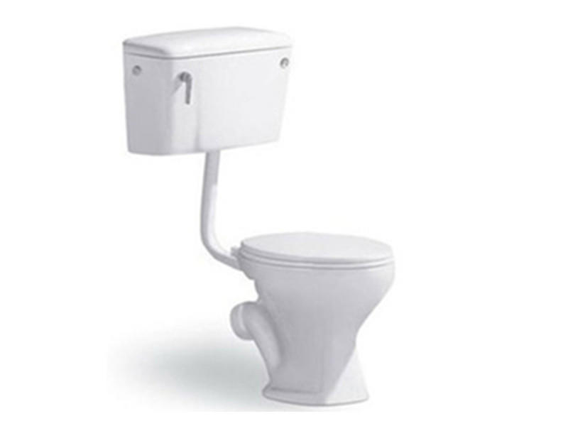 Cheap price two piece washdown p-trap types of toilets in africa