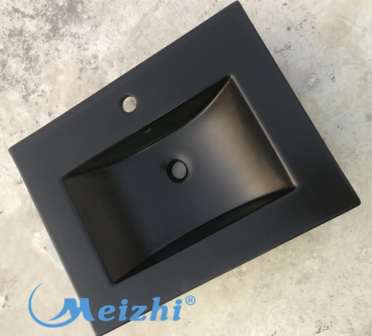 modern black basin manufacturer for hotel-1