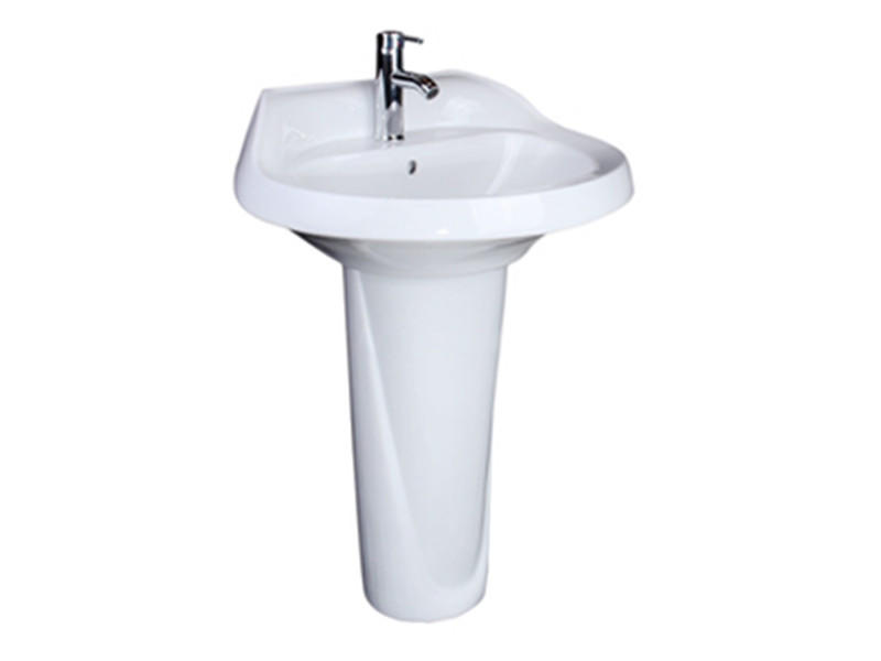 luxury ceramic pedestal wash basin