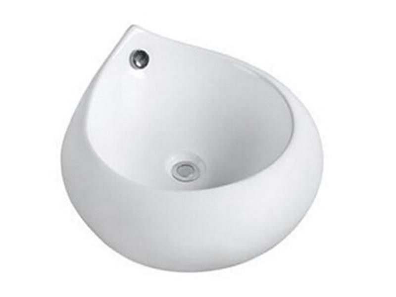 New design porcelain bathroom water drop shape art basin