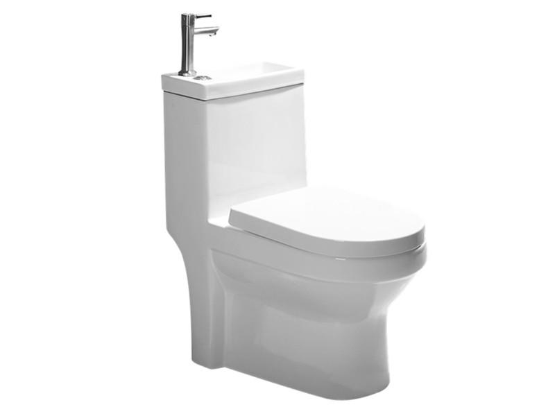 Chaozhou manufacturer toilet with integrated basin