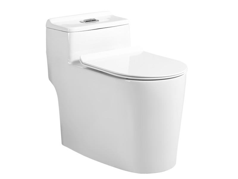 One piece siphon toilet sanitary wares bathroom