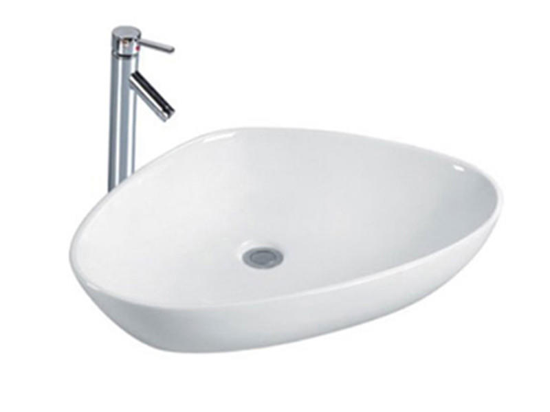 Ceramic sanitary ware bathroom shell sink