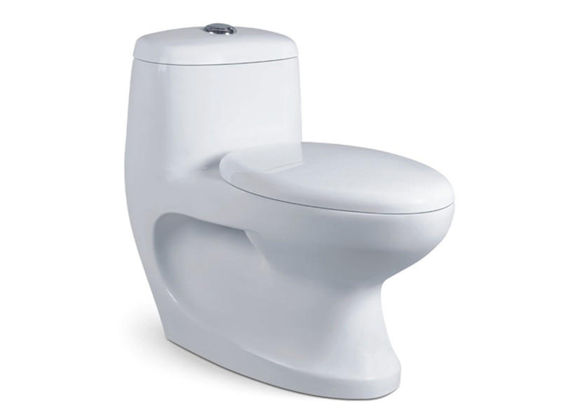 Guangdong ceramic outlet 4inch standard size western toilet price