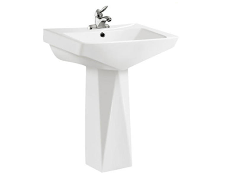 Made in china porcelain sanitary ware pedestal basin