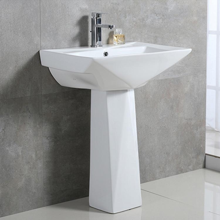 Meizhi pedestal lavatory manufacturer for hotel-1