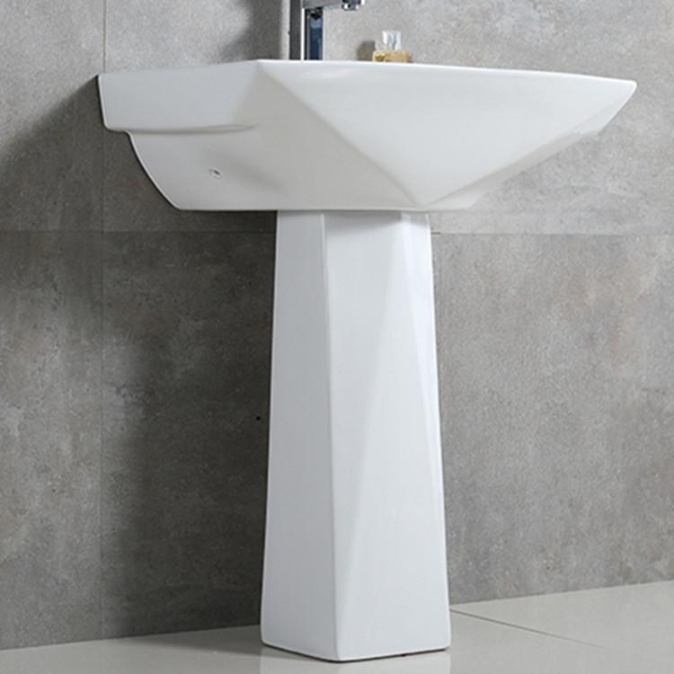 Meizhi pedestal lavatory manufacturer for hotel-2