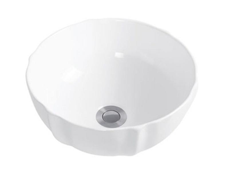 Cloakroom ceramic design stand hand wash basin