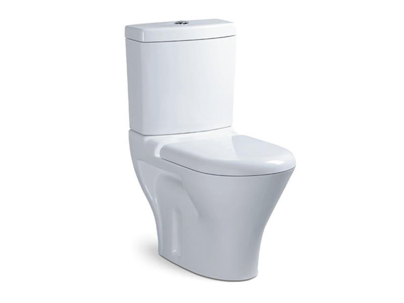 China supplier washdown two piece ceramic toilet bowl