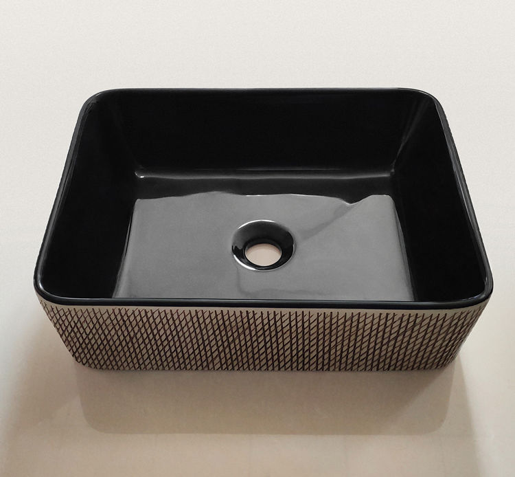 Meizhi black sink basin wholesale for hotel-1