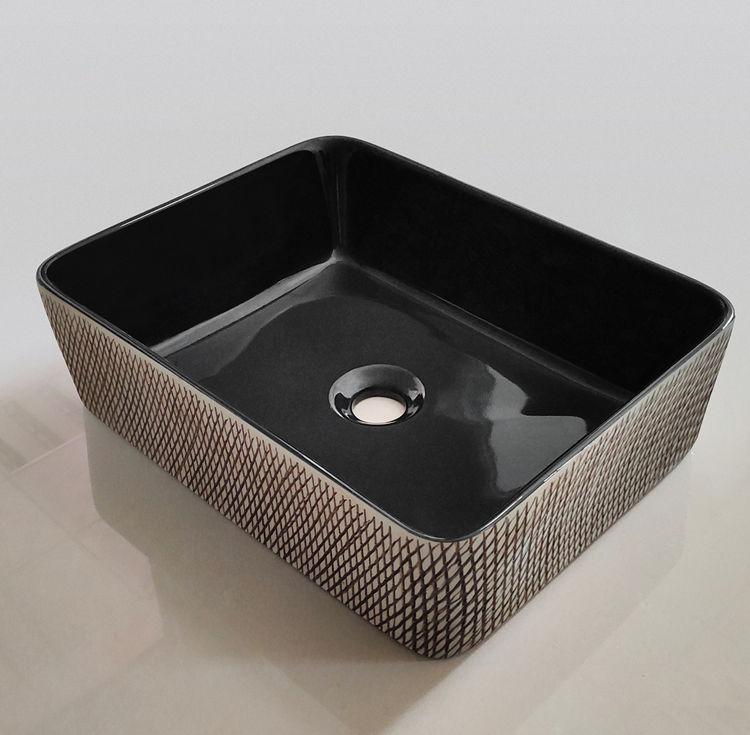 Meizhi black sink basin wholesale for hotel-2