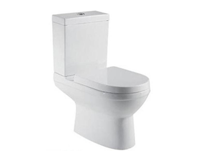 Made in china sanitary ware two piece elongated toilet