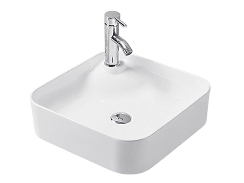 Bathroom vanity ceramic hand washbasin in prices