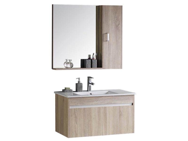 Wall hung poplar plywood bathroom vanity bathroom furniture import