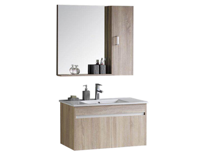 Wall hung poplar plywood bathroom vanity bathroom furniture import