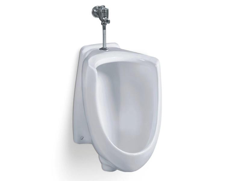 Bathroom wall mounted ceramic female urinal