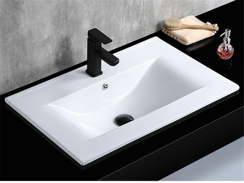 Guangdong Sanitaryware Bathroom Cabinet Ceramic Washbasin