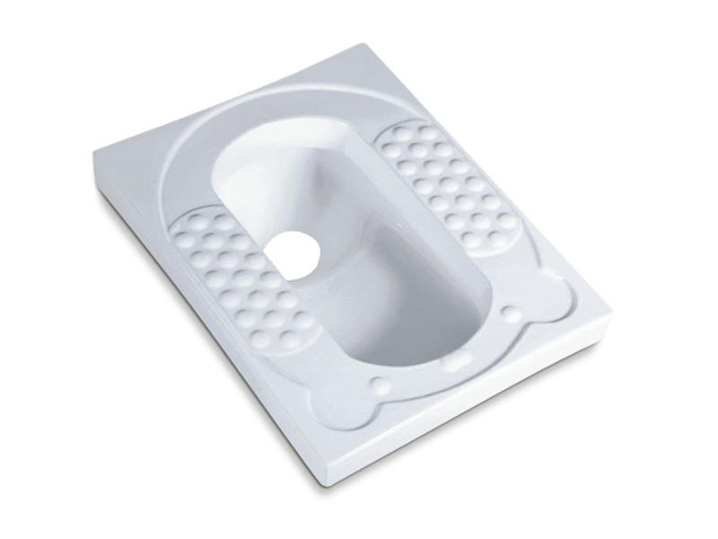 Chaozhou sanitary ware bathroom porcelain antiskid squat toilet
