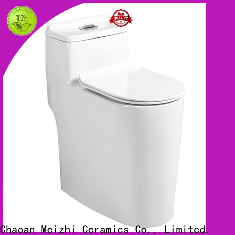Meizhi one piece elongated toilet with good price for home