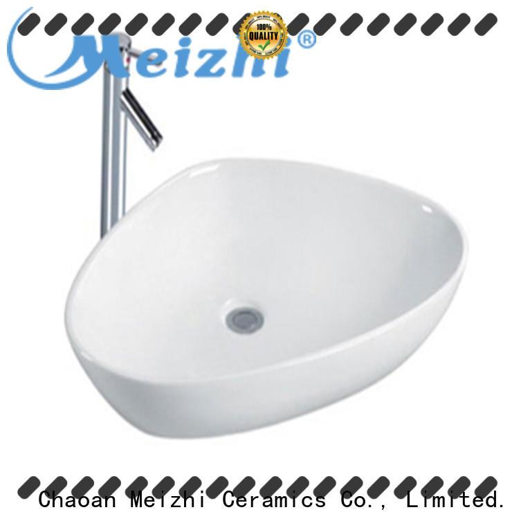 white latest wash basin wholesale for bathroom