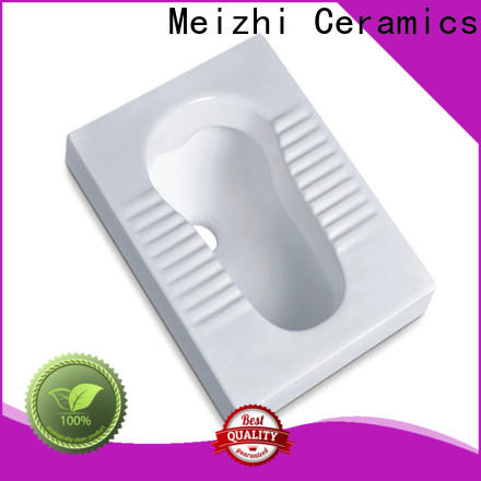 Meizhi squatting pan supplier for hotel