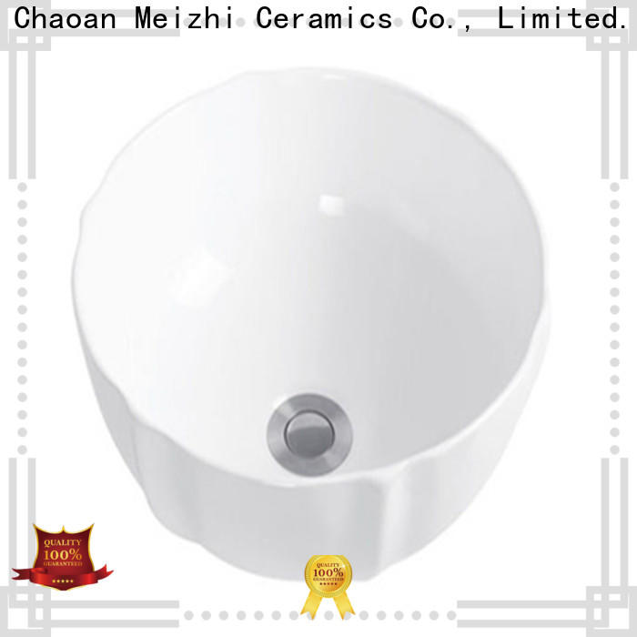 Meizhi modern design stylish wash basin manufacturer for bathroom