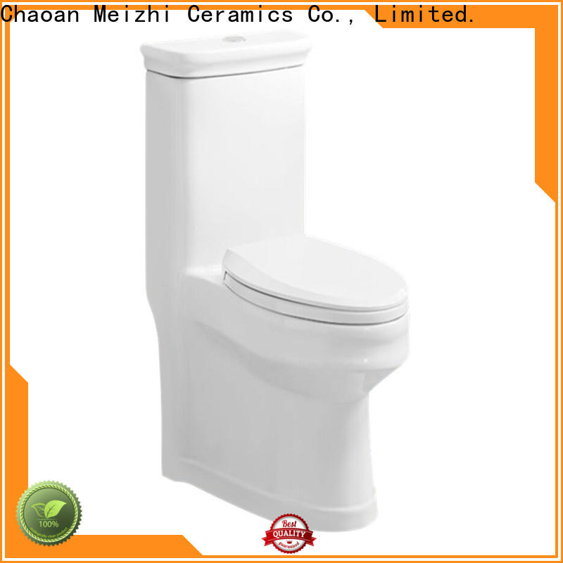 Meizhi one piece round toilet customized for bathroom