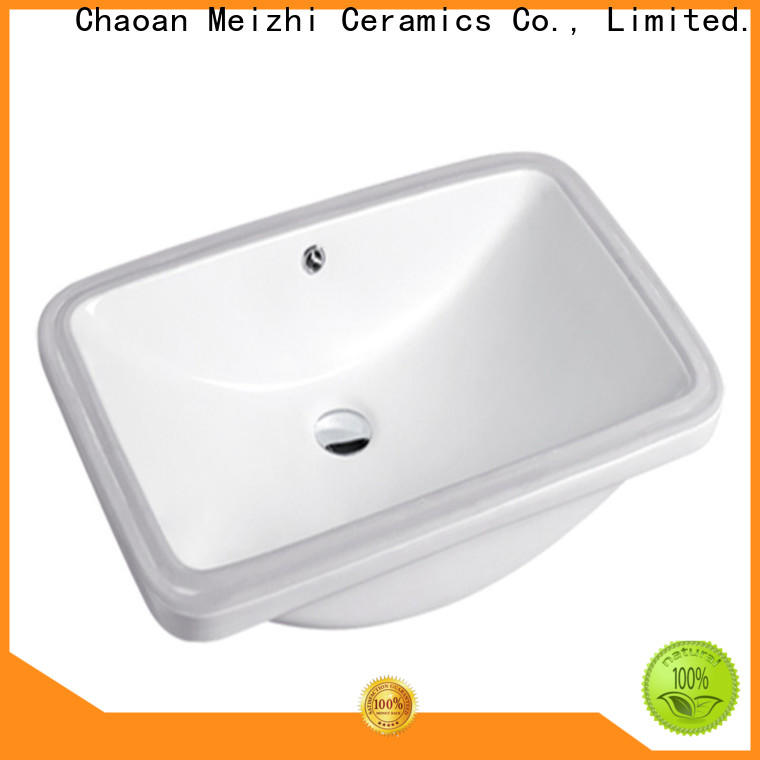 Meizhi contemporary counter top basin directly sale for hotel
