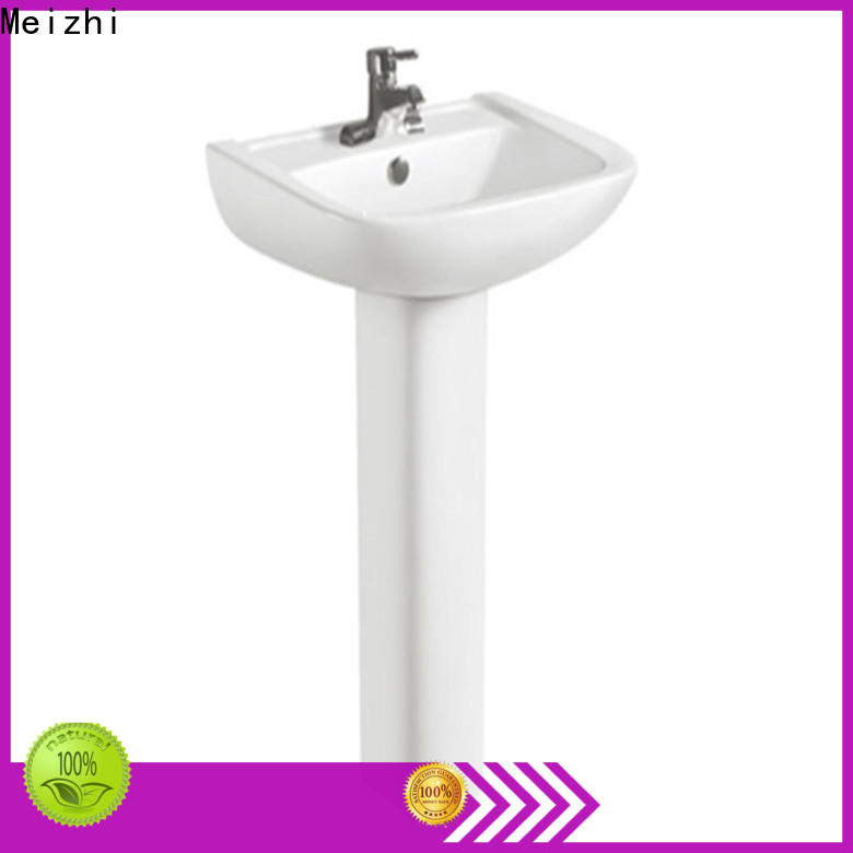 Meizhi washroom basin supplier for hotel