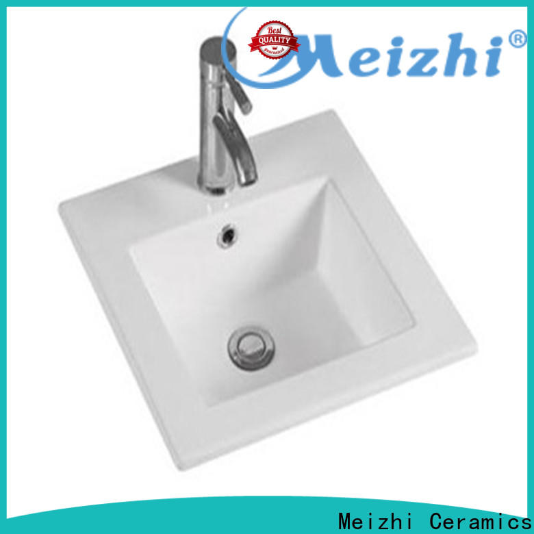 Meizhi contemporary vanity basin wholesale for bathroom